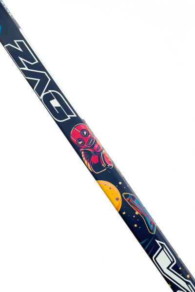 """ZAG 18FLEX- 46"""" (117 cm height, from toe to tip) 235 grams"""